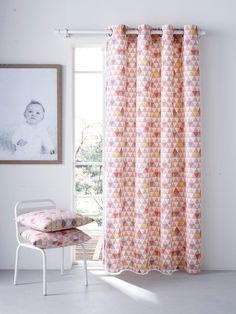 Cute Gaze Vorhang mit B ndern von Vertbaudet in grau Nur uac Versand Dekoration Aufbewahrung jetzt bei Vertbaudet bestellen