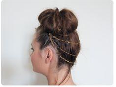 Les Mercredis de Daphné: DIY: Le Headband Trois Chaînes (astuce)