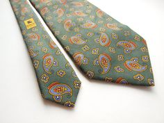 BURBERRYS of LONDON vintage mens necktie by SillyPurpleZephyre