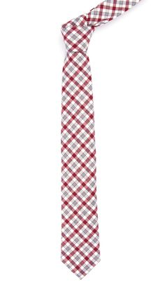 Columbia Plaid - Burgundy | Ties, Bow Ties, and Pocket Squares | The Tie Bar