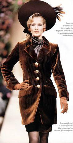 Yves Saint Laurent 1992 www.vintageclothin.com