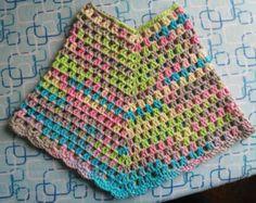 Poco algodón poncho trigo suéter superior la bufanda por MaxMelody