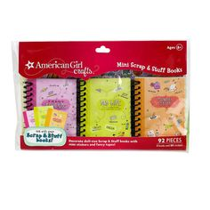 <div><div>The American Girl Crafts Scrap & Stuff collection is the easiest way ever to keep memo...