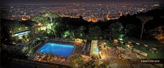 Rome Cavalieri - Where Brandon and I stayed on our honeymoon