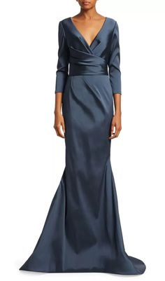 30 Chic Mother of the Groom Dresses for Any Style and Budget - - The big day is almost here so we've rounded up the best mother of the groom dresses to make you look and feel your best. Mother Of The Bride Dresses Long, Mother Of Bride Outfits, Mothers Dresses, Mother Bride Dress, Grooms Mother Dresses, Mother Of The Groom Suits, Older Bride Dresses, Long Mothers Dress, Groom Attire Rustic