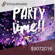 STYLE CRUSH- MY  1ST POSH PARTY - 9/7 Hello all my pffs. I'm super excited, I am hosting my very first posh party on 9/7. Please share and spread the word. Please send me some fabulous posh compliant closets, and new poshers as well. I'll be looking for host picks, and fabulous finds! Theme is style crush. Other