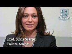 Silvia Scarpa Professor of Political Science at John Cabot University, an American university in Rome