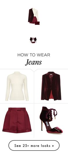 """""""Front Row Elegance"""" by teresamargit on Polyvore featuring AG Adriano Goldschmied, Valentino, Altuzarra, Jimmy Choo, chic, Sexy and Elegant"""
