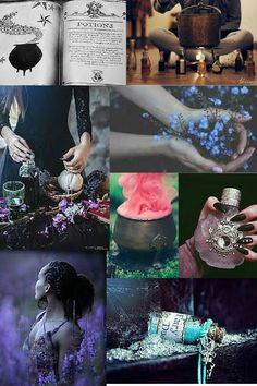 Potion witch aesthetic