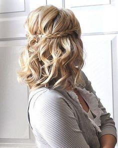 So Simple, Medium-length Boho Hairstyle