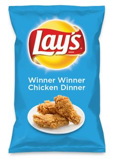INSPIRATION - #lays #dousaflavor, let's go classic #FriedChicken (no waffles) with WINNER WINNER CHICKEN DINNER All the right seasonings, herbs and spices. Lay's Do Us A Flavor is back, and the search is on for the yummiest flavor idea. Create a flavor, choose a chip and you could win $1 million! https://www.dousaflavor.com See Rules.