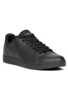 e4cb0f7af79 Tênis Casual Masculino Adidas Advantage Clean Preto