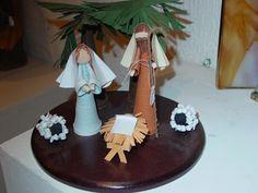 Nacimiento de papel-Nativity Scene in Quilling