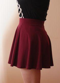 Kup mój przedmiot na #Vinted http://www.vinted.pl/kobiety/spodnice/9827977-bordowa-spodniczka-hm