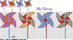 Bazan bir şey görüyorum, çocukluğuma gidiyorum :) Bu fırıldakların çok tatlı anısı vardır bende...Hangisini isterseniz :)) Designed by Filiz Türkocağı..