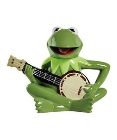 Look what I found on #zulily! Kermit Banjo Teapot by The Muppets #zulilyfinds