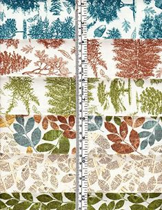 21 Fat Quarters Trail Mix & Elk Ridge by Riley Blake Cotton Quilt Fabric Bears Fish Trees Leaves Fabric Crafts, Sewing Crafts, Tree Leaves, Cotton Quilts, Fat Quarters, Amazon Art, Sewing Stores, Blanket, Trail
