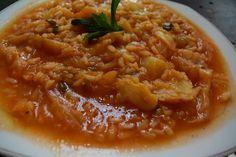 Greek Cooking, Fun Cooking, Yams, Greek Recipes, Soups And Stews, Macaroni And Cheese, Chili, Vegan, Dinner