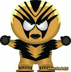 South Park Wrestling, Ecw Wrestling, Mini Things, Professional Wrestling, Tigger, Wwe, Disney Characters, Fictional Characters, Anime