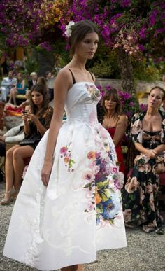 Dolce & Gabbana presented their first couture offering, called Alta Moda, for Autumn/Winter 2012 in Sicily