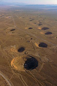 ストックフォト : Nevada Nuclear Test Ban Site