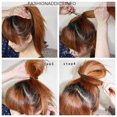 Cute Korean Hairstyles Tutorial