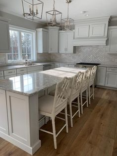 Kitchen integrated: tips for decorating and 60 inspirations with photos - Home Fashion Trend Kitchen Interior, Home Decor Kitchen, Kitchen Cabinet Design, Kitchen Decor Inspiration, Kitchen Redo, Home Kitchens, Kitchen Layout, Kitchen Renovation, Kitchen Design