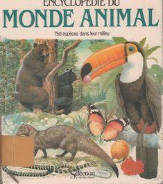Invertébrés + intro + index (Encyclopédie du monde animal, 1980)