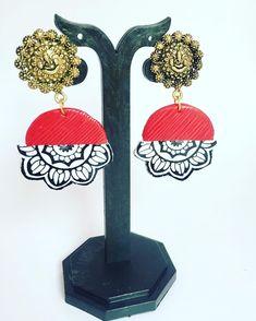 Polymer Clay Jewelry, Jewelery, Crochet Earrings, Handmade Jewelry, Drop Earrings, Personalized Items, Instagram, Artist, Jewelry