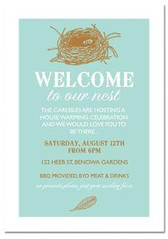 Noun of invite invitationscriative only 1 00 each check out our nest noun housewarming stopboris Choice Image