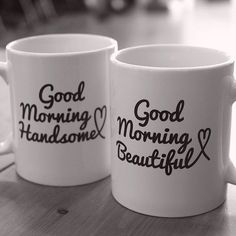 """His and hers mugs are great wedding gifts, engagement party gifts, and bridal shower gifts. Our unique mug set for couples are the perfect gifts for a romantic occasion like anniversaries. This """"Good Morning Beautiful, Good Morning Handsome"""" mug cup will be a perfect wedding gift for newlywed couples. This simple, yet elegant set will add a romantic touch to their new home. Best Gift Ideas for Holiday, Christmas, Valentine's Day, Halloween, and any other Special Occasions. Order now this…"""