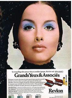 Revlon Cosmetics Ad, 1970