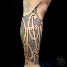 Tristan Ta Moko Maori Blackwork