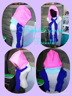 Check out this item in my Etsy shop https://www.etsy.com/listing/265503326/oversized-hooded-scarf