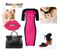 """6 Banggood"" by sanela-avdic-mutapcic ❤ liked on Polyvore featuring Silvana and Lime Crime"
