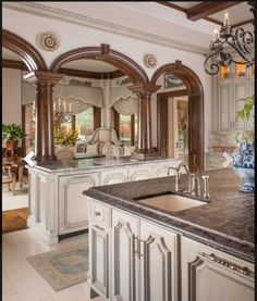 Best Best Trends in Kitchen Design Ideas for 2019 Part 38 - Wohnen - Kitchen Tools Elegant Kitchens, Luxury Kitchens, Beautiful Kitchens, Home Kitchens, Luxury Kitchen Design, Best Kitchen Designs, French Country Kitchens, Küchen Design, Design Ideas