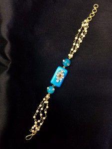 Rakhi for Sister-in-Law (Sky Blue)
