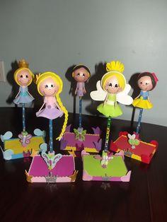 LUCCY CRAFT'S: Fofulapices de Princesas