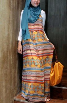 boho & #hijab -- love it! #hijabi #style #fashion