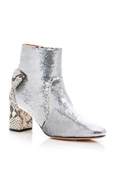 Rochas boot Metallic Ankle Boots f195eea52a