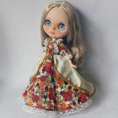 Cassandra - OOAK Custom Art Blythe Doll by Rainfable Dolls (2015)