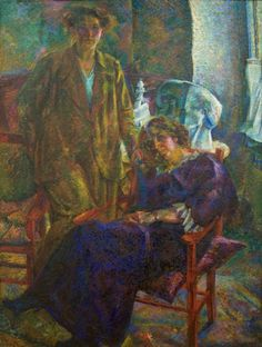 Umberto Boccioni, Le due amiche, 1914-15
