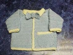 Ravelry: My Little Man Baby Sweater pattern by Mandy Nihiser