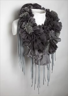 More Rowan Mersh. A whole series of gorgeous scarves.
