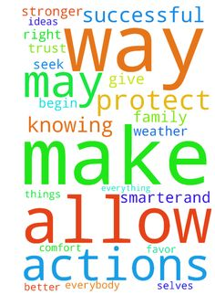 Lord In ask that in the name of Jesus you protect my - Lord In ask that in the name of Jesus you protect my family and I and allow us as well as everybody on this prayer request board to overcome what adversity does come are way make us stronger, smarter,and more successful than before. May it be your will to turn things that are for good to our favor. Allow us to trust in your plan weather or not we like or even understand knowing it was just not meant to be. Understanding that everything…