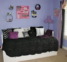 purple bedroom decorating photos