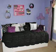 purple bedroom decorating photos