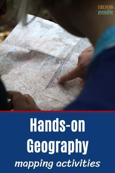 100 Hands-on Geography Activities for Middle School Hands On Geography, Middle School Geography, World Geography, Geography Lesson Plans, Geography Activities, Creative Activities, Hands On Activities, Map Skills, Virtual Travel