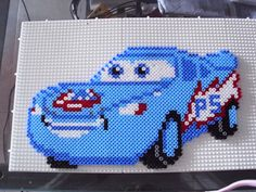 Cars character hama beads by Memekan