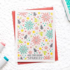Welcome to the Hero Arts November 2017 My Monthly Hero Kit Blog Hop. If you came from the amazing Lydia Fiedler's blog, you are right on track! To celebrate a release of November 2017 My Monthly Hero Kit, I created two one layer cards with Christmas themed backgrounds. I started by stamping the sentiment from the Happy Hanukkah Stamp …